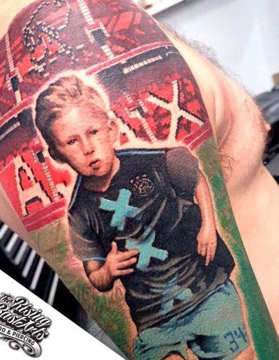 Ajax tattoo by Jayvee