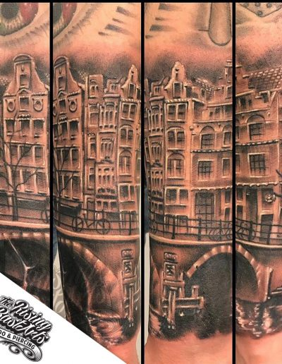 Amsterdam tattoo by Jayvee