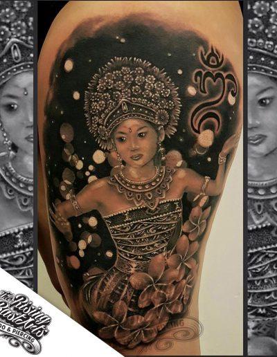 Balinese tattoo by Jayvee