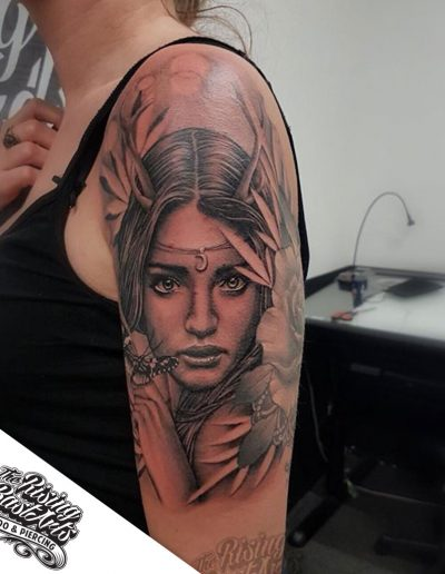 Chicano tattoo by Jayvee
