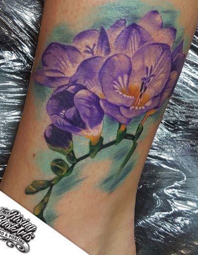 Color tattoo by Ivan V.