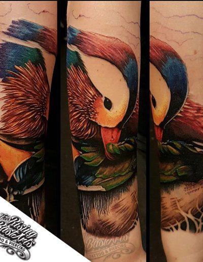 Duck tattoo by Jayvee