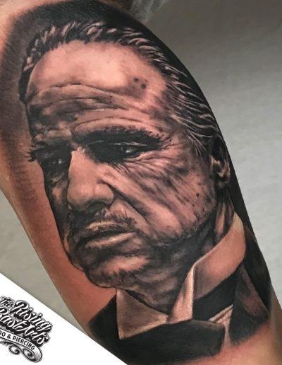 Godfather tattoo by Ivan V.