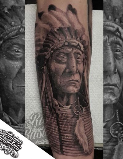 Indian tattoo by Jayvee