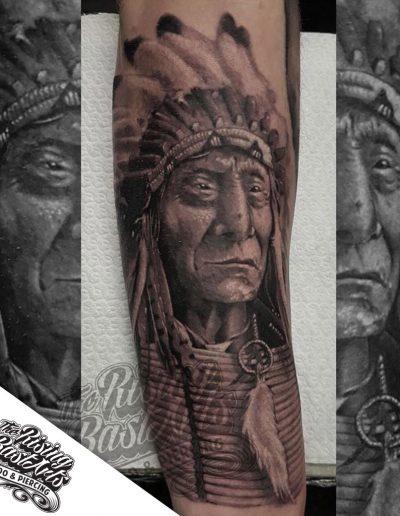 Indian tattoo by Jayvee