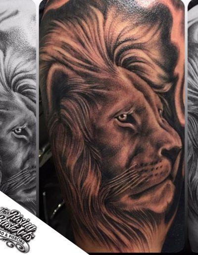 Lionhead tattoo by Jayvee
