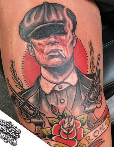 Peakyblinders tattoo by Ivan V.