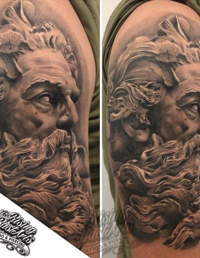 Poseidon tattoo by Jayvee
