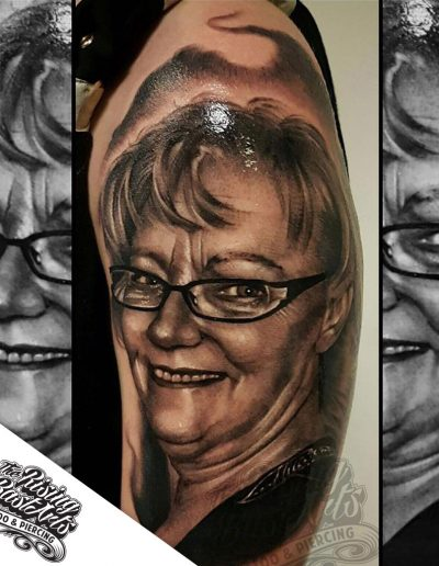 Potrait tattoo by Jayvee