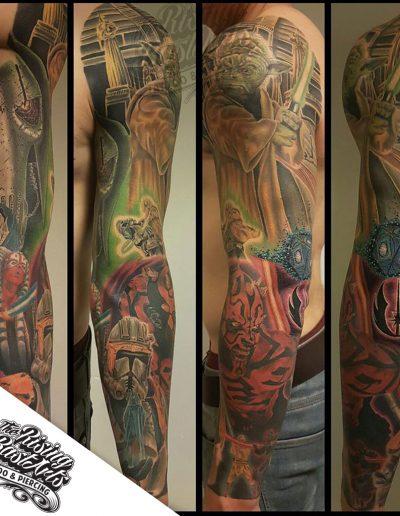 Starwars tattoo by Jayvee