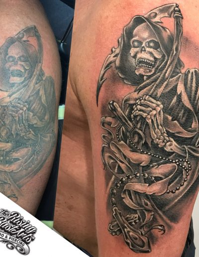 Touchup tattoo by Ivan V.