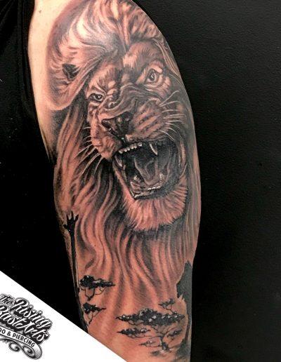 Lion_ArmTattoo_RisingBastards_Nijmegen
