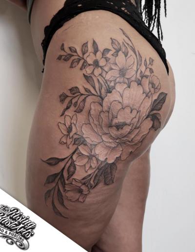 FlowerTattoo_RisingBastards_Nijmegen_Giographic
